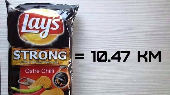 calorie patatine